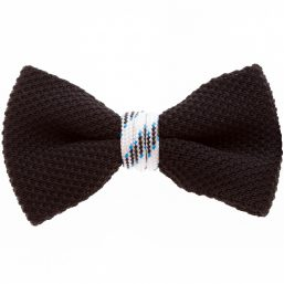 Black White Bow Tie