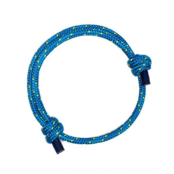 Blue Braided Bracelet