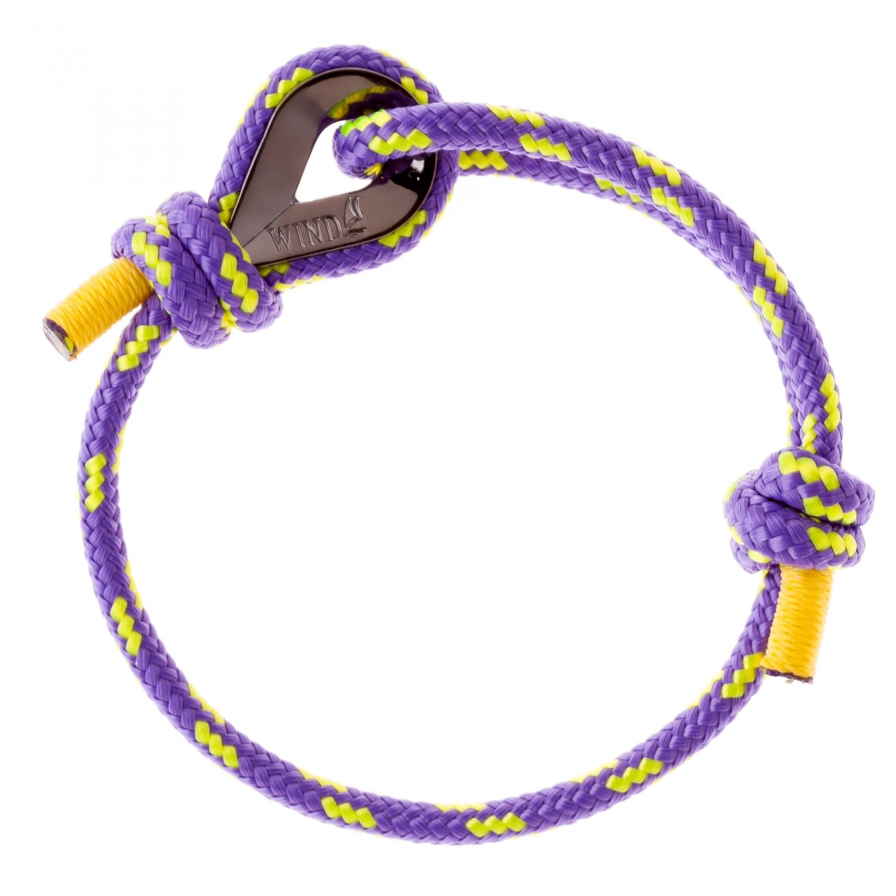 Mens Purple String Bracelet