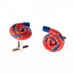 Mens Red Cufflinks