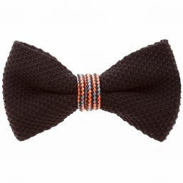 Orange Wind Passion Bow Tie