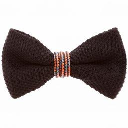 Orange Wind Passion Bow Tie