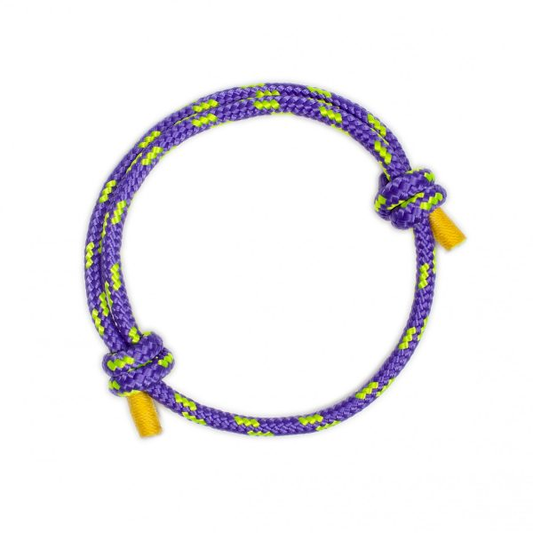 Purple Knot Bracelet