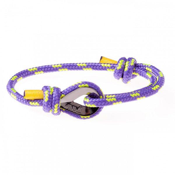 Purple Maritime Bracelet