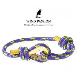 Purple Rope Bracelets