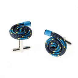 Wind Passion Blue Cufflinks