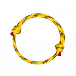 Yellow Cord Women Bracelet