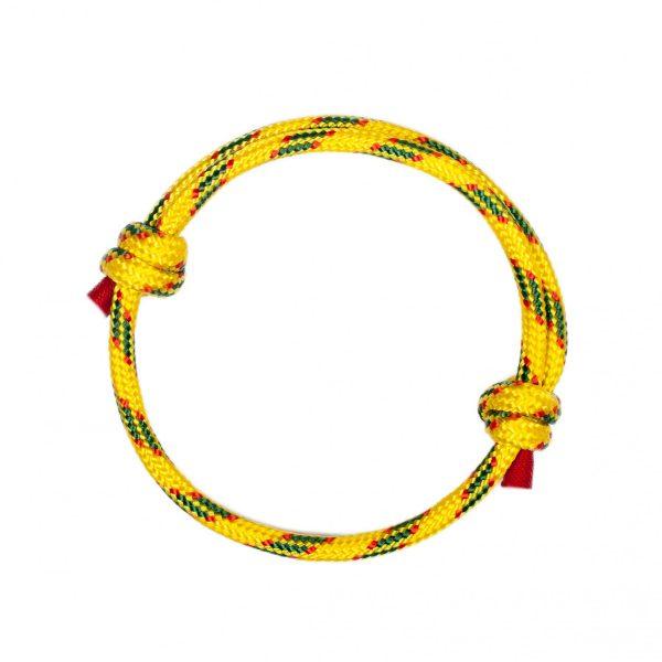 Yellow Cord Women Bracelet