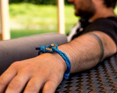 Blue Nautical Rope Bracelet