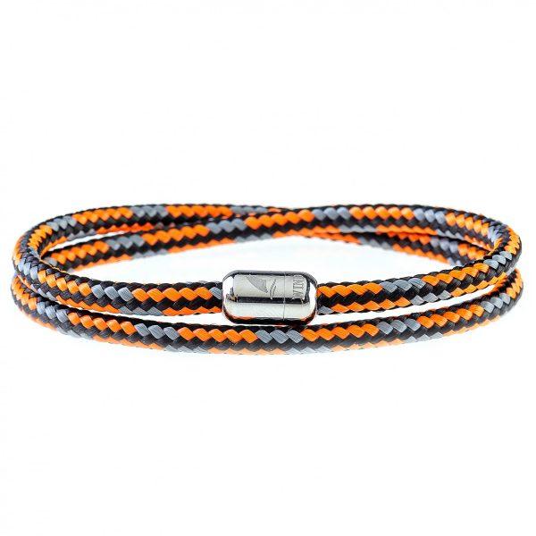 Dakar Silver Magnetic Bracelet