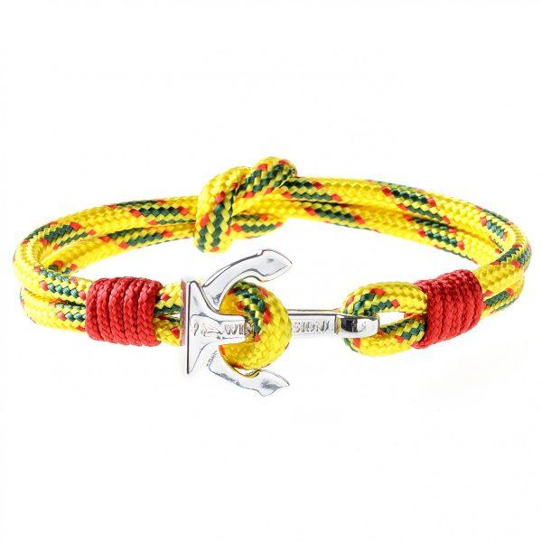Golden Sun Anchor Bracelet