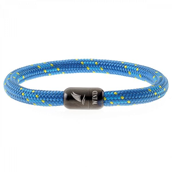 Blue Magnetic Bracelet